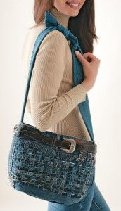 blue jeans purse tutorial