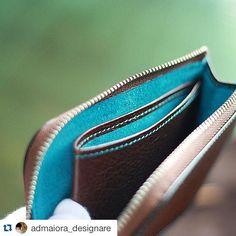 #leathermob #Repost @admaiora_designare with @repostapp. ・・・ wallet . #レザ ー#レザークラフト #レザーワーク #ハンドメイド #オーダーメイド #革職人 #革細工 #leather #leathercraft #leatherwork #leathergoods #handmade #革 #革小物 #AdmaioraDesignare #アドマイオーラデジナーレ #手縫い#handsewn #handstitch #like #cute #ウォレット #wallet #財布 #L型ファスナーサイフ