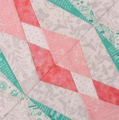 Hidden Gems The Bee Hive quilt block tutorial   Blossom Heart Quilts