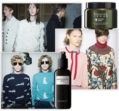 Les tendances coiffures homme de la Fashion Week printemps-été 2016 et leurs produits de coiffure phares coupes hommes, cheveux bouclés, Alexander McQueen, Prada http://www.vogue.fr/vogue-hommes/beaute/diaporama/les-tendances-coiffures-homme-printemps-t-2016/21395