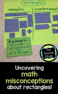 We had a GREAT math class where some major misconceptions were uncovered...check out how it all unfolded!