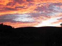 Beautiful sunset at Montestigliano!