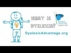 What is Dyslexia? - Dyslexic Advantage One Minute Video - YouTube