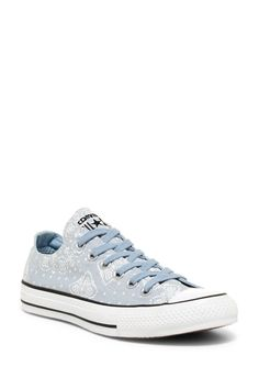 4725bab97f85e1 Chuck Taylor All Star Oxford Bandana Sneaker (Women) by Converse on   nordstrom rack Oxford
