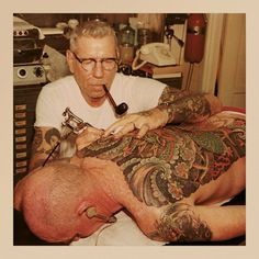 THE LEGEND OF TATTOOER SAILOR JERRY COLLINS #InkedMagazine #tattooer #SailorJerry #tattoos #history