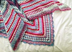 The Blue Nordic Shawl - maRRose CCC