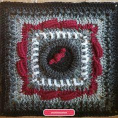 "KalevalaCal 2017  11. ""Joukahainen suossa"" Mandala, Blanket, Sewing, Crochet, Crafts, Pattern, Grey, Dressmaking, Manualidades"