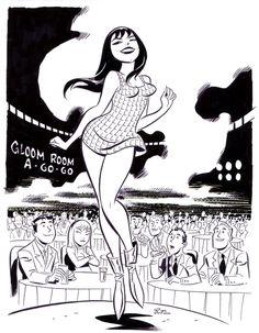 Mary Jane Watson art by Bruce Timm Spider-Man Marvel Comics Comic Book Artists, Comic Book Characters, Comic Artist, Comic Books Art, Bruce Timm, Character Art, Character Design, Comic Art Community, Drawn Art