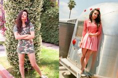 Charli XCX models clothes from Urban Outfitters