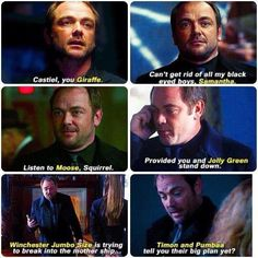 Crowley appreciation post.  Even though he's now the self-proclaimed King of Hell, and has tried to kill our Winchester boys countless times...I really do love Crowley.
