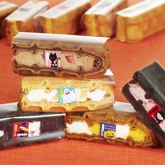 R.L waffle cake  Halloween sweets