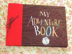 Do Jeitinho da Gi : DIY  My Adventure Book - Filme Up Altas Aventuras ♥