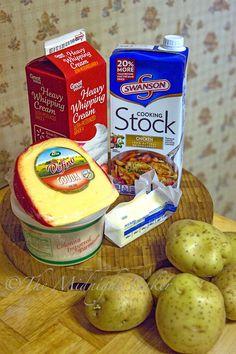 Potatoes Gratin Ingredients