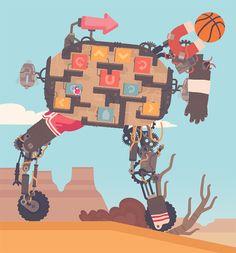 Regular Human Basketball- Powerhoof