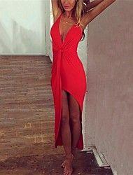 Платье - Ассиметричное - Хлопок - Секси - Пояс н... – RUB p. 1 247,43