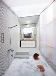 Neat idea for a shower / bath.