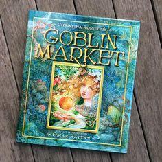 Goblin Market Book - illustrated art book by Omar Rayyan - Rossetti - poem - graphic novel - literature - fantasy by StudioRayyan on Etsy https://www.etsy.com/listing/494300532/goblin-market-book-illustrated-art-book
