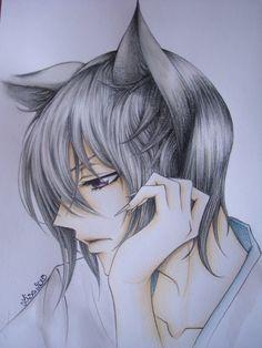 Tomoe (from Kamisama hajimemashita anime) finished by LizzziebyLisaCosta on DeviantArt