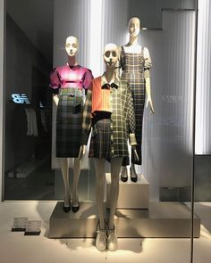 """ZARA, Passeig De Gracia, Barcelona, Spain, """"Fashion Trend to look out for: Check That"""", photo by Mulheres De Bom Gosto, pinned by Ton van der Veer"""