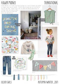 Emily Kiddy: Flower Market - Autumn/Winter - Older Girls Trend 2016 Fashion Trends, 2016 Trends, Kids Winter Fashion, Kids Fashion, Girl Trends, Ga In, Fashion Forecasting, Winter Trends, Winter 2017