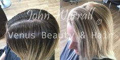 Laura came in with old balayage and wanted a brighter and more fresh blonde look. John used Milkshake's sunlights and cool tones and weaved the colours through to lift the roots to balance the colour throughout the hair, creating a style that bought a little bit of summer in winter.