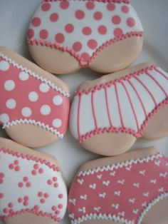 Booty panty cookies one dozen by LuxeCookie on Etsy, $24.00