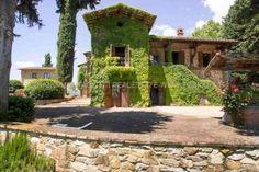 Immagine Facciata di villa su Val di Pesa-Valdarno, Firenze