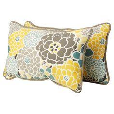 Delta Outdoor Lumbar Pillow