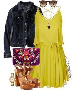 Plus Size Outfit Idea - Plus Size Tunic Dress - Plus Size Fashion for Women - alexawebb.com #alexawebb