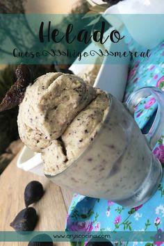 Te enseño a preparar un delicioso helado con un toque de mezcal ¡IRRESISTIBLE! Friend Recipe, Dessert Recipes, Desserts, Sorbet, Cereal, Good Food, Ice Cream, Cookies, Breakfast