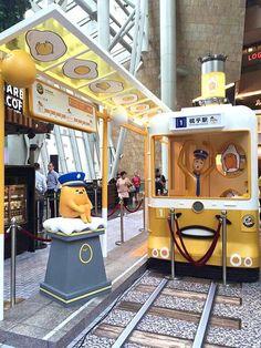 #Gudetama special event, Hong Kong (⌒▽⌒) #Sanrio   ♡ { (◑﹏◑) Kawaii Land } ♡   Pinterest