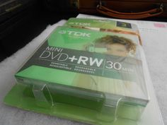 New & Sealed TDK MINI DVD+RW 30 Minutes 3 PACK For Camcorders FREE FAST SHIPPING #TDK