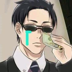 Otaku Anime, Anime Guys, Manga Anime, Meme Faces, Funny Faces, Memes Pt, Funny Anime Pics, Anime Meme Face, Hxh Characters