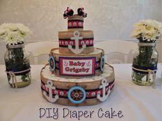 Wine Down: DIY Diaper Cake