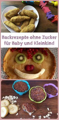 Backen ohne Zucker für Baby & Kleinkind