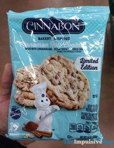 SPOTTED ON SHELVES: Pillsbury LImited Edition Cinnabon Cinnamon Roll Cookies