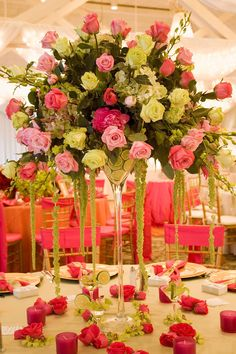 Charlotte Design: Reception flowers
