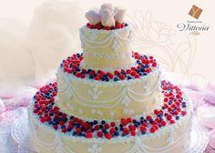 Andromeda - torta semifreddo con frutti di bosco
