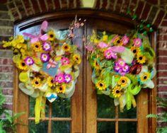 Springtime wreaths!