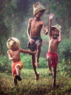.joyful children
