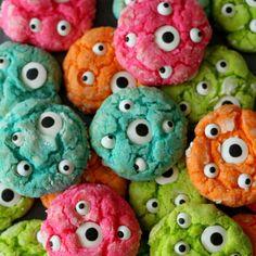 Gooey Monster Cookies  - CountryLiving.com