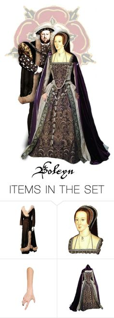 """Henry Tudor & Anne Boleyn"" by annette-heathen ❤ liked on Polyvore featuring art, history and Britain"