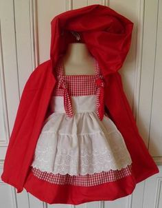 Little Red Riding Hood Boutique Costume taglia 2T di PetiteandPosh