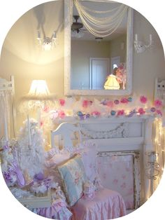 Olivia's Romantic Home: Shabby Chic Christmas