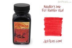 Noodler's Eel Rattler Red Ink - 3 oz Bottle - NOODLERS 19202