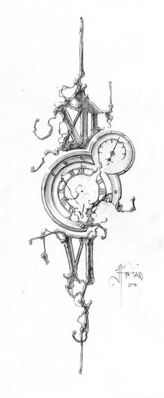 54 Ideas Tattoo Sleeve Designs Sketches Drawings Compass For 2019 Tatto Drawings – Fashion Tattoos Time Tattoos, Body Art Tattoos, Small Tattoos, Cool Tattoos, Clock Tattoo Design, Compass Tattoo Design, Tattoo Sketches, Drawing Sketches, Drawings