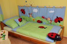 KAPSÁŘ ZA POSTEL BERUŠKA KATKA Kids Room, Toddler Bed, Furniture, Education, Sewing, Home Decor, Child Bed, Dressmaking, Decoration Home