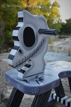 Nightmare Before Christmas by CurlicueAndVine on Etsy