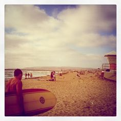 Ocean Beach - San Diego. :) seriously though why would you even need to go on vacation if you already live in paradise.?