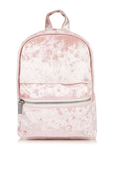 **Pink Velvet Backpack by Skinny Dip